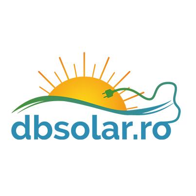 Design logo firma servicii de proiectare si comercializare sisteme fotovoltaice - dbsolar.ro