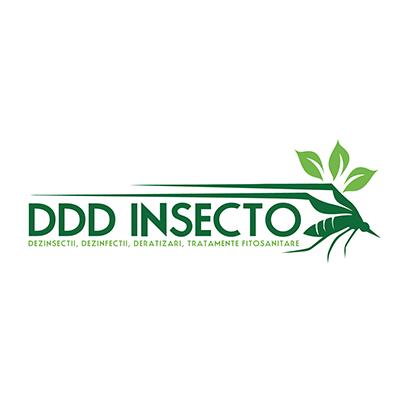 Design logo companie servicii deratizare, dezinfectie, dezinsectie - DDD Insecto