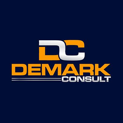 Design logo companie consultanta financiara - Demark Consult