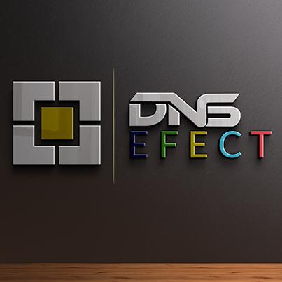 Design logo 3D - DNS Efect
