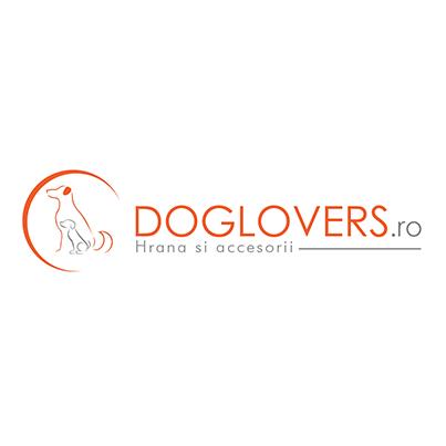 Design logo magazin online hrana uscata animale - Doglovers