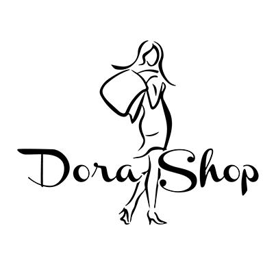 Design logo magazin online imbracaminte - Dora Shop