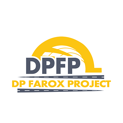 Design logo companie constructii drumuri - DP Farox Project