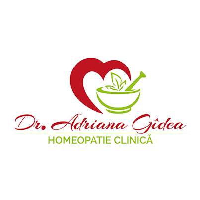 Design logo cabinet medicina alternativa homeopatie - Dr. Adriana Gidea