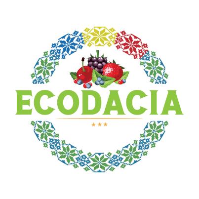 Design logo ferma ecologica fructe - Eco Dacia