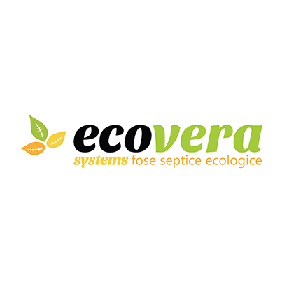Design logo importator fose septice - Eco Vera