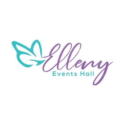 Design logo organizator evenimente - Elleny Events Hall