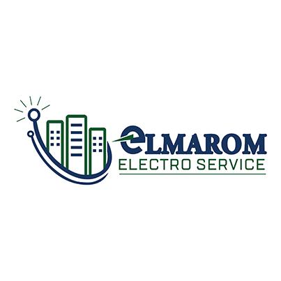 Design logo firma instalatii electrice - Elmarom