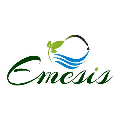 Design logo furnizor solutii complete pentru irigatii automatizate - Emesis