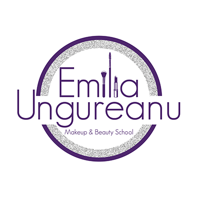 Design logo scoala de make up  profesional - Emilia Ungureanu