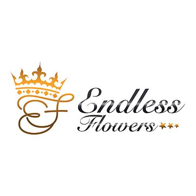 Design logo florarie - Endless Flowers