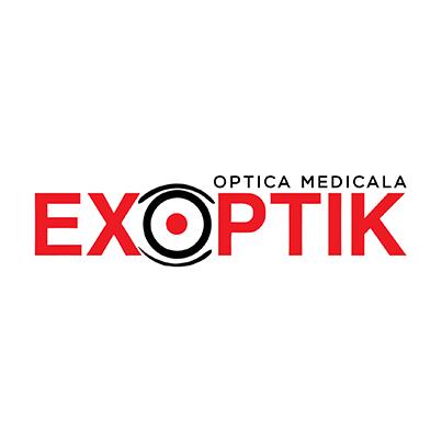 Design logo optica medicala - Exoptik