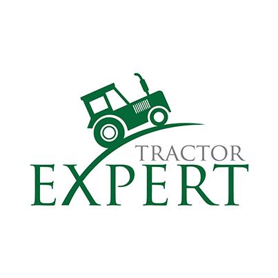 Design logo utilaje agricole - Expert Tractor