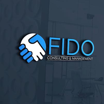 Design logo 3D firma consultanta financiara - Fido