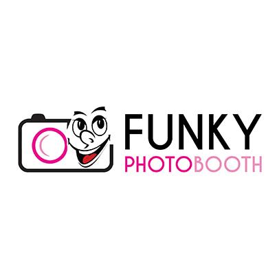 Design logo firma servicii foto personalizate pentru evenimente - Funky Photobooth