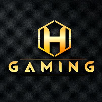 Design logo 3D sala de jocuri - H Gaming