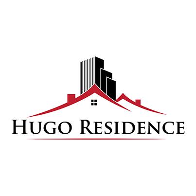 Design logo dezvoltator imobiliar - Hugo Residence