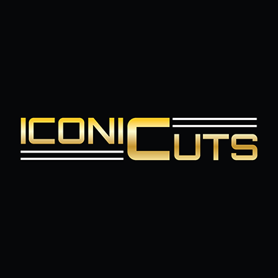 Design logo salon coafura - Iconic Cuts