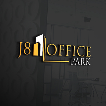 Design logo 3D complex birouri - J8 Office