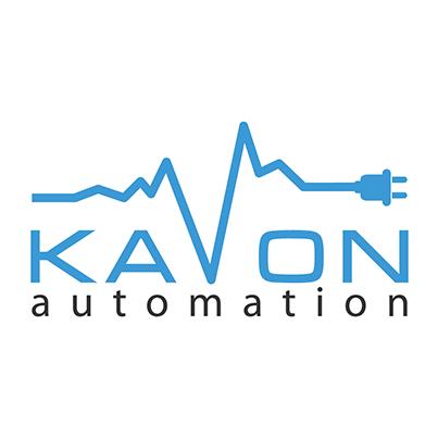 Design logo companie solutii automatizari industriale - Kavon