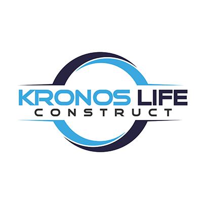 Design logo companie constructii - KRONOS LIFE CONSTRUCT