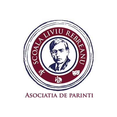 Design logo asociatie scolara de parinti - Scoala LiIviu Rebreanu