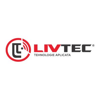 Design logo firma instalare sisteme securitate - LivTec
