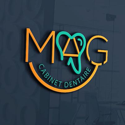 Design logo 3D cabinet stomatologic - Mag