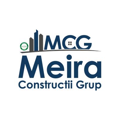 Design logo companie constructii - Meira Constructii Grup