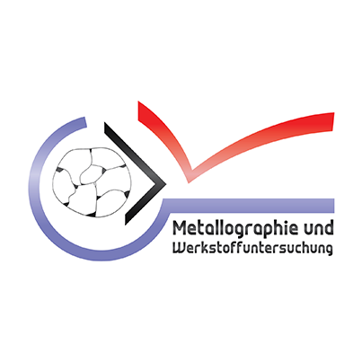 Design logo firma metalografie - Metallographie