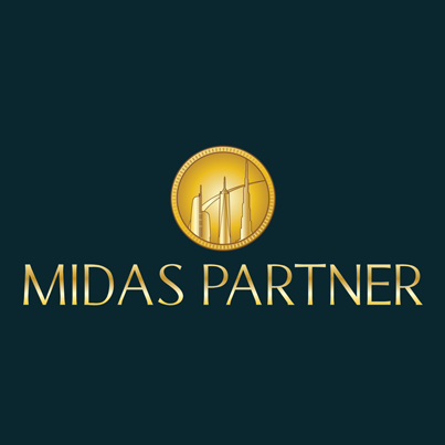 Design logo firma property si facility management - Midas Partner