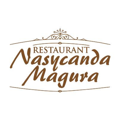 Design logo restaurant Nasycanda Magura