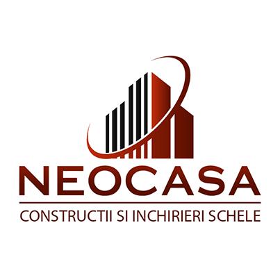 Design logo  companie constructii si inchirieri schele - Neocasa