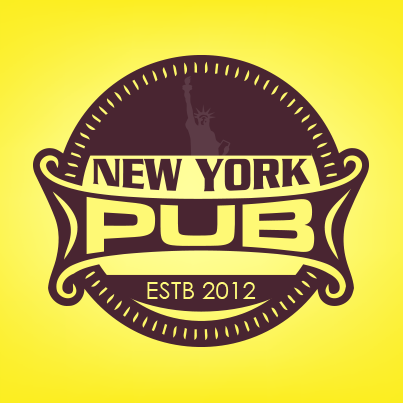 Design logo cafenea - New York Pub
