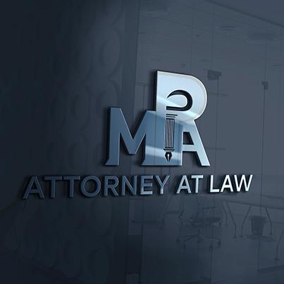 Design logo 3D cabinet avocatura - MPA