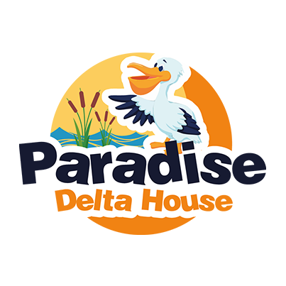 Design logo pensiune lux - Paradise Delta House