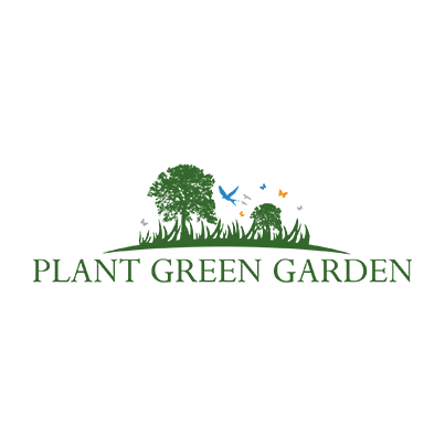 Design logo companie peisagistica si amenajare spatii verzi - Plant Green Garden