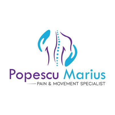 Design logo medic fizioterapeut - Dr. Popescu Mariu