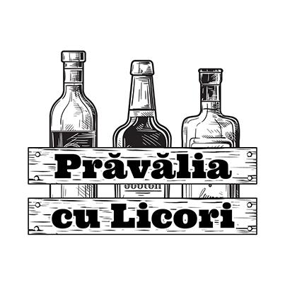 Design logo magazin online bauturi alcoolice - Pravalia cu Licori