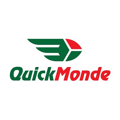 Design logo companie transport aerian si terestru - Quicq Monde