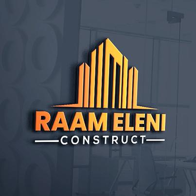 Design logo 3D firma constructii - Raam Eleni Construct