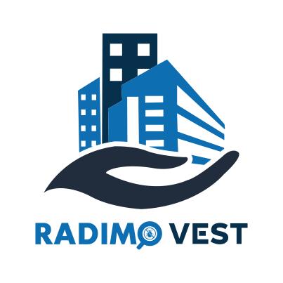 Design logo servicii managementul proprietatii - Radimo Vest