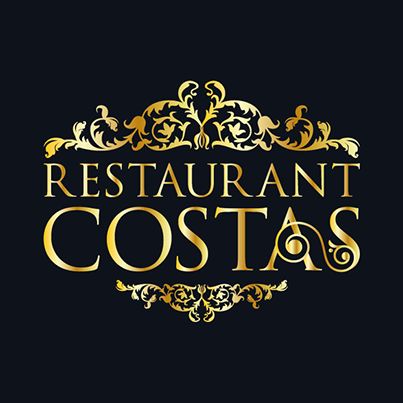 Design logo restaurant - Costas