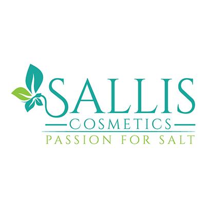 Design logo brand cosmetice - Sallis Cosmetics Passion For Salt