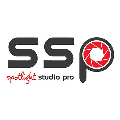 Design logo studio servicii foto-video profesionale - Spotlight