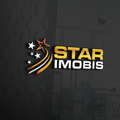 Design logo 3D agentie imobiliara - Star Imobis