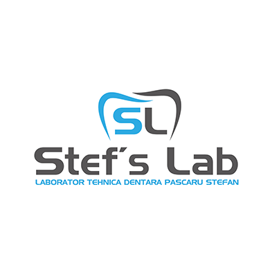 Design logo laborator tehnica dentara - Stefs Lab