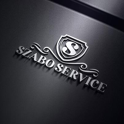 Design logo 3D service auto - Szabo Service
