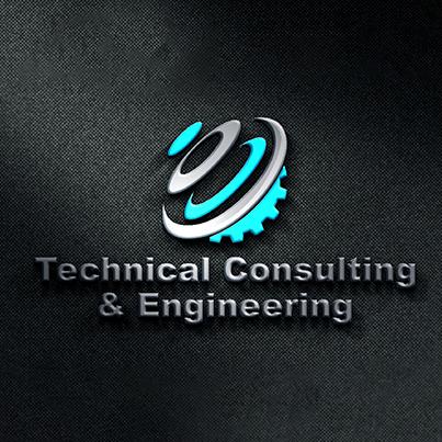 Design logo 3D firma consultanta tehnica arhitectura si inginerie