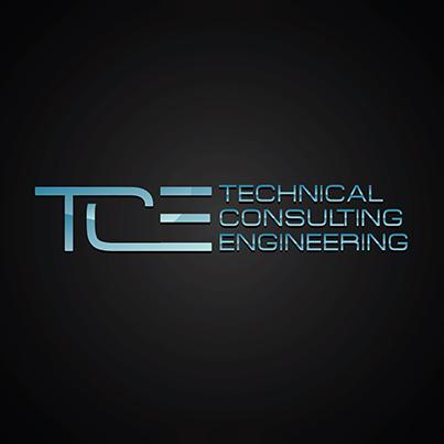 Design logo firma de consultanta tehnica pentru activitati de arhitectura si inginerie - Technical Consulting Engineering